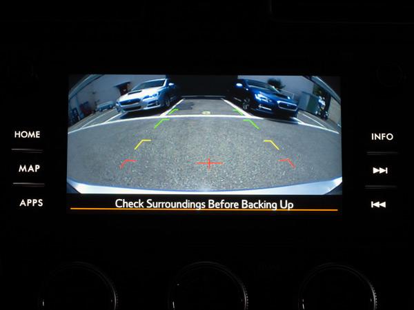 Galinio vaizdo kameros sistema