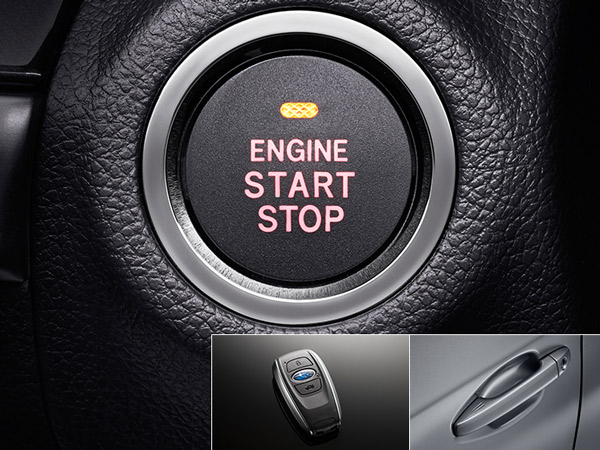 Beraktė prieigos ir užvedimo mygtuku sistema*2